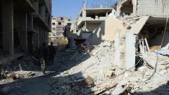 Трима руски репортери ранени от противотанков снаряд в Сирия