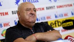 Венцеслав Стефанов: Няма страшно, Славия няма да изпадне
