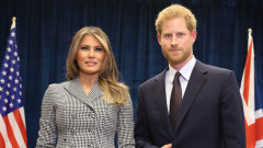 Колко плати Мелания Тръмп за среща с принц Хари