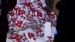Ръководена от чужбина нелегална фабрика за цигари разкрита в Луковит