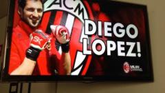 Диего Лопес вече е играч на Милан