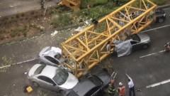 Кран падна в Сиатъл