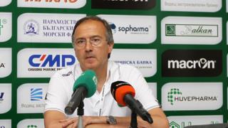 Дерменджиев: За Базел ще мислим след мача с Хасково