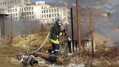 Изгасен е пожарът край Елешница