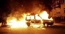 Три автомобила изгоряха в Бургас