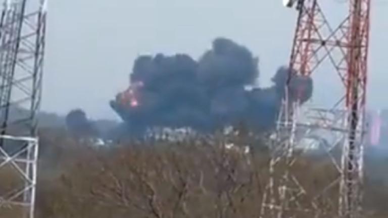 Пакистански F-16 се разби до парк в столицата Исламабад