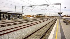 Готов е първият километър от високоскоростната жп линия в Сърбия