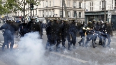 Полицията във Франция арестува 141 души при протести