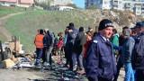 Влизането и излизането в махалите в София през КПП-та