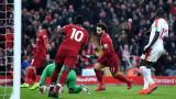 """Страхотна драма и вратарска глупост донесоха инфарктни 3 точки за Ливърпул срещу Палас, """"Анфийлд"""" видя 7 гола!"""