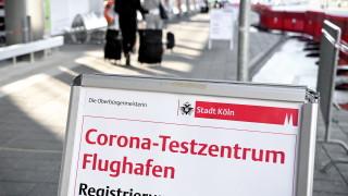 Случаите на коронавирус в Германия се повишиха с 555 до 215 891