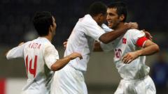 Хакан Шукур отбеляза 4 гола във вратата на Молдова