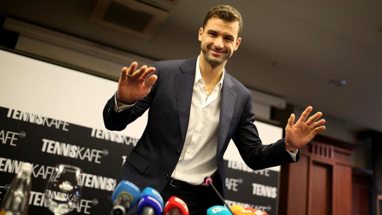 Най-добрият български тенисист Григор Димитров потвърди, че ще бъде играещ