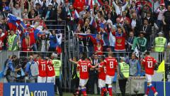 Русия с летящ старт на Мондиал 2018, Сборная вкара пет гола на Саудитска Арабия