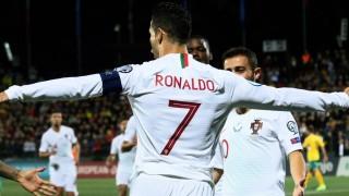 Роналдо унищожи пореден съперник на Португалия, този път вкара 4 гола и потроши рекорд!