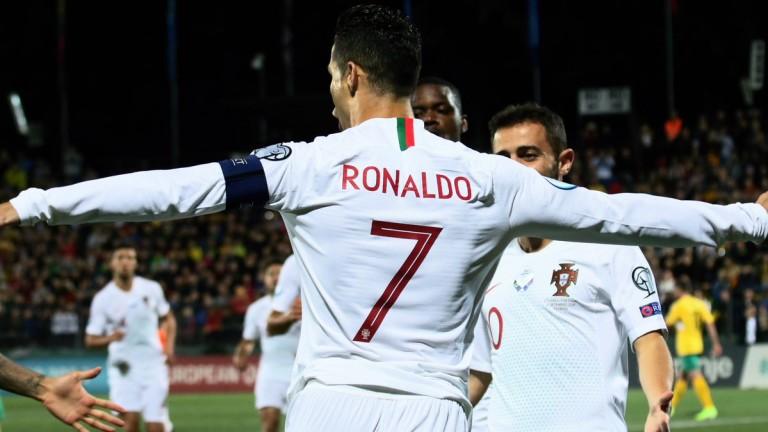 Литва загуби тежко от Португалия в среща от Група