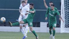 Лудогорец 0:1 Цървена Звезда, Владислав Стоянов спаси дузпа