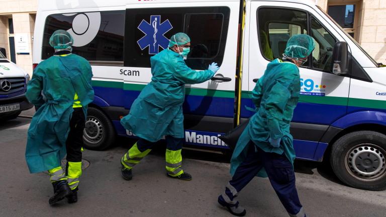С над 4900 нараснаха случаите на заразените с коронавирус в Испания