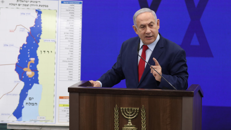 ЕС предупреждава, че обещанието на израелския премиерБенямин Нетаняху да анексира