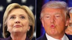 Клинтън води със 7% на Тръмп