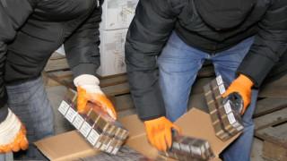 Повдигнаха обвинение на баща и син за голямо количество контрабандни цигари