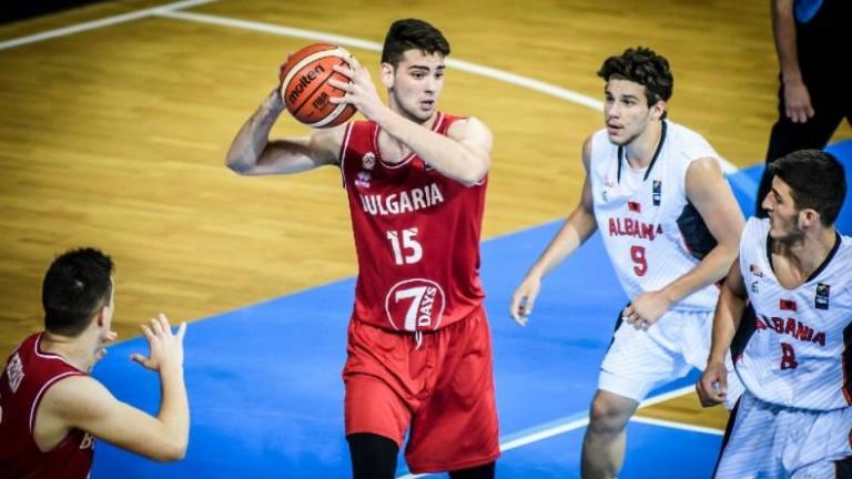 Юношеският национален отбор по баскетбол загуби и втората си контрола