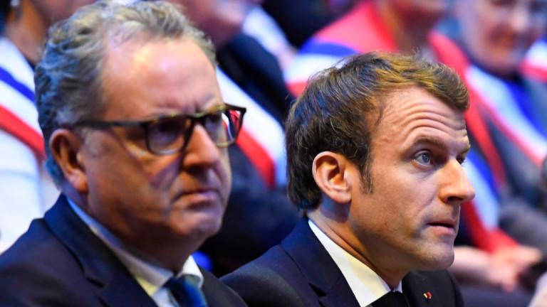 Председателят на френския парламент Ричард Феран, близък съюзник на президента