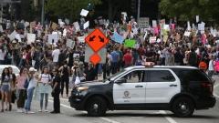 Протестите в САЩ продължиха пета поредна нощ