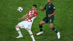 Хърватия - Нигерия 2:0 (Развой на срещата по минути)