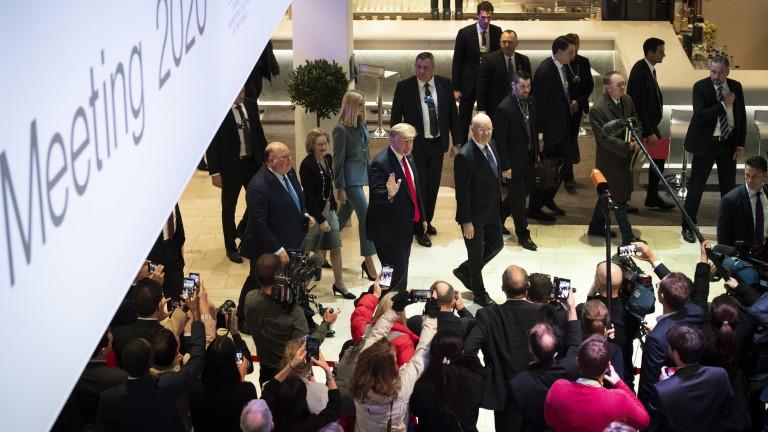 Президентът на САЩ Доналд Тръмп похвали шефа на