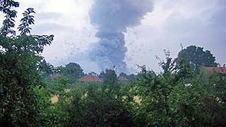 Взривът в Челопечене - в доклад на САЩ за военните складове