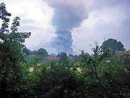Експлодираха военни складове край София