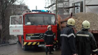 Магазин за текстилни стоки изгоря в Пловдив