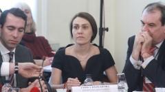 Гинка Върбакова запозна ЧЕЗ с искането на България