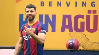 Агуеро: Барселона е най-добрият отбор в света, правя стъпка напред