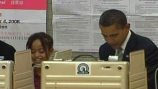 Барак Обама гласува в Чикаго