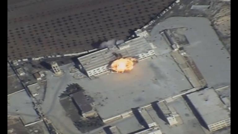 Вижте как Русия бие по джихадистите в Сирия