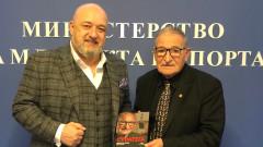 Министър Кралев и Димитър Пенев обсъдиха развитието на младите таланти в българския футбол