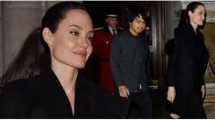 Анджелина заведе Мадокс в Бъкингамския дворец
