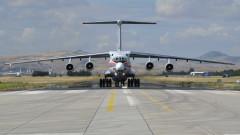 Трети пореден ден руски самолети доставят части от системата С-400 в Турция