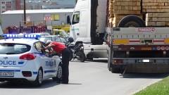Тир засече моторист в Благоевград