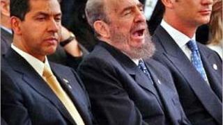 Фидел Кастро подкрепи Зидан