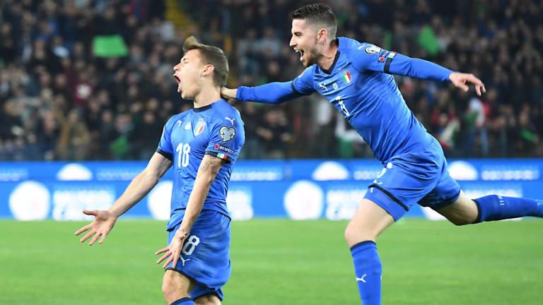 Обновената Италия на Роберто Манчини стартира с победа участието си