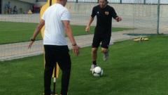 Вуйчо Ваньо отново тренира пълноценно