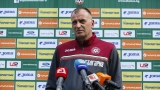 Тони Здравков: Докато имаме шанс за второто място, ще се борим