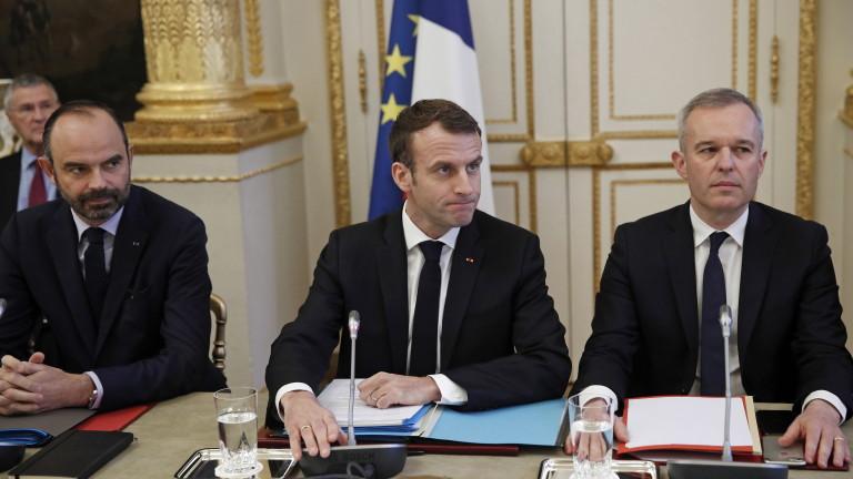 Президентът на Франция Еманюел Макрон трябва да обедини страната, разделена