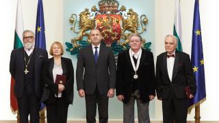 Михаил Белчев и Владимир Пенев с държавни отличия