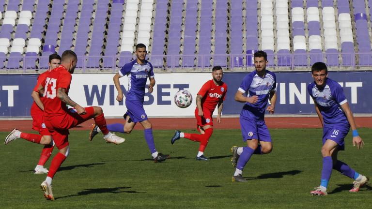 Етър - Арда 0:0, слаба игра и на двата отбора