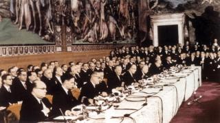 Основателките на ЕС подписали преди 60 г. празни страници в Римския договор