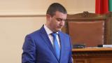 Владислав Горанов се отказа да оттегля бюджета